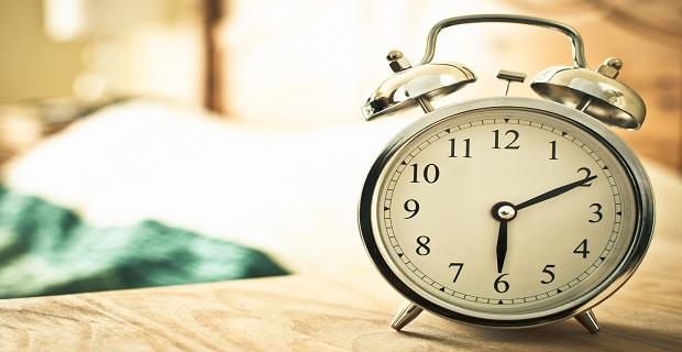 просыпаться рано утром