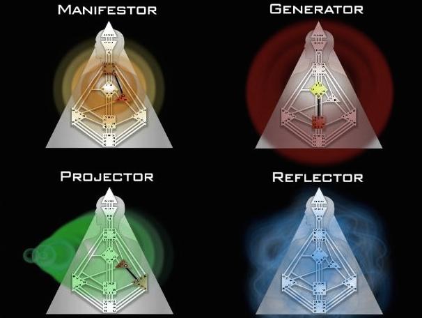 дизайн человека генетические типы