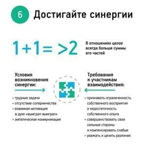 Стивен Кови навык 6